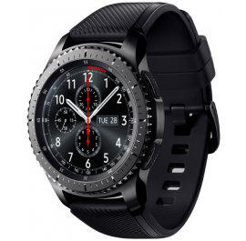 Купить Смарт-часы Samsung Gear S3 Frontier Space Gray (SM-R760NDAASEK) a2435bd1f71
