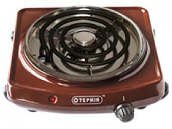 Купить Плита электрическая настольная Термія ЕПТ 1-1,0/220(с)(корич)