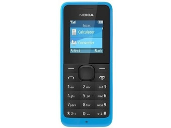 Купить Мобильный телефон Nokia 105 cyan