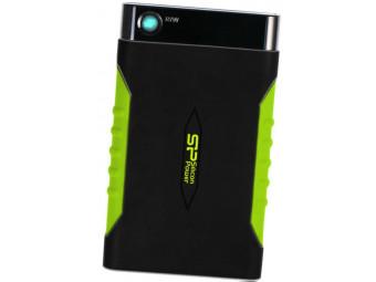 Купить Жесткий диск внешний проводной Silicon Power Armor A15 500 GB Black (SP500GBPHDA15S3K)