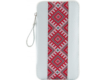 Купить Чехол для смартфона Black Brier 5Б,XХL,№18(ЕС5С) белый с этно-лентой