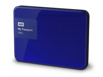 Купить Жесткий диск портативный WD My Passport Ultra 500 GB Blue (WDBWWM5000ABL)