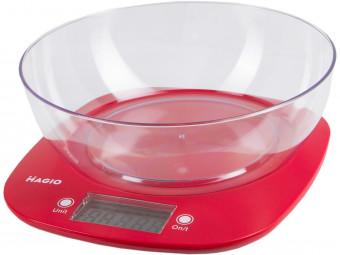 Купить Весы кухонные Magio MG-290N (red)