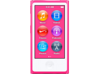 Купить MP3 плеер Apple iPod nano 16GB MKMV2QB/A Pink