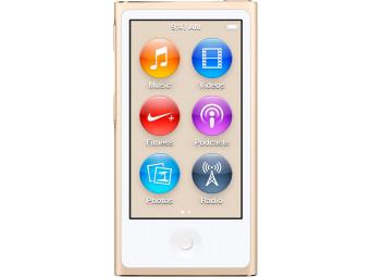 Купить MP3 плеер Apple iPod nano 16GB MKMX2QB/A Gold