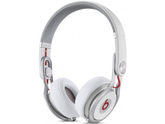 Купить Наушники полноразмерные Beats Mixr High-Performance Professional Headphones White (MH6N2ZM/A)