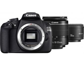 Купить Фотокамера зеркальная Canon EOS 1200D EF-S 18-55 DC III+ EF 50 1.8 STM