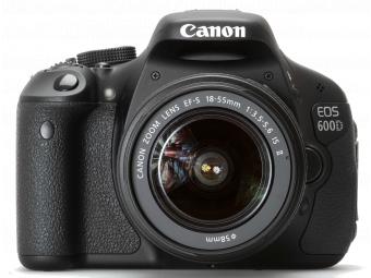 Купить Фотокамера со сменным объективом Canon EOS 600D kit 18-55mm DC III
