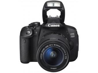 Купить Фотокамера со сменным объективом Canon EOS 700D Kit 18-55 IS STM