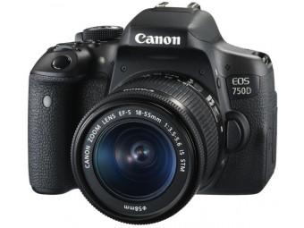 Купить Фотокамера зеркальная Canon EOS 750D kit 18-55 IS STM