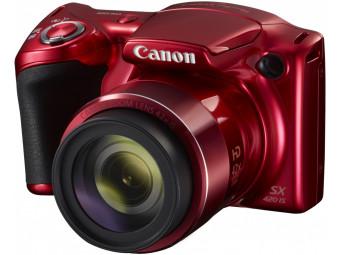 Купить Фотокамера Canon Powershot SX420 IS Red (1069C012)