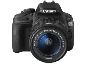 Купить Фотокамера со сменным объективом Canon EOS 100D Kit 18-55 IS STM