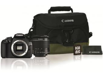 Купить Фотокамера со сменным объективом Canon EOS 1200D kit 18-55 IS II + Карта памяти SD 8GB + Сумка