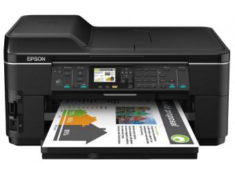 Купить МФУ цветной печати Epson WorkForce WF7515 (C11CA96311) c WI-FI