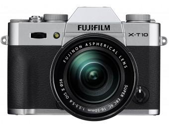 Купить Фотокамера беззеркальная Fujifilm X-T10 Kit 16-50 Silver