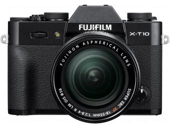 Купить Фотокамера беззеркальная Fujifilm X-T10 Kit 18-55 Black