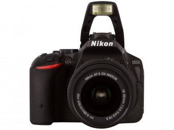 Купить Фотокамера со сменным объективом Nikon D5500 kit 18-55VR II Black
