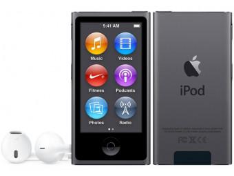 Купить MP3 плеер Apple iPod nano 16Gb MKN52QB/A Space Gray 7Gen