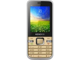 Купить Мобильный телефон Keneksi K5 Dual Sim Gold