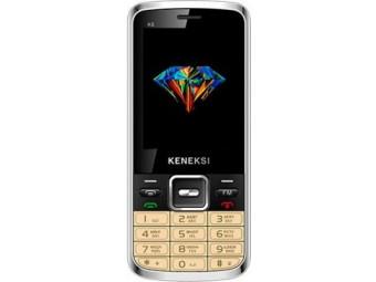 Купить Мобильный телефон Keneksi K6 Dual Sim Gold