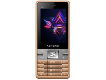 Купить Мобильный телефон Keneksi K8 Dual Sim Golden