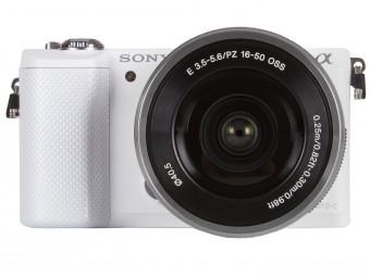 Купить Фотокамера со сменным объективом Sony ILCE-5000 Kit 16-50mm OSS White