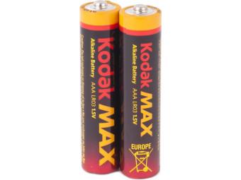 Купить Батарейка тип AAA Kodak MAX LR03 2 шт