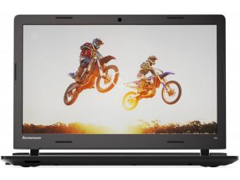 Купить Ноутбук Lenovo IdeaPad 100-15 (80QQ00BHUA) Black