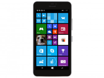 Купить Смартфон Microsoft Lumia 640 XL DS White