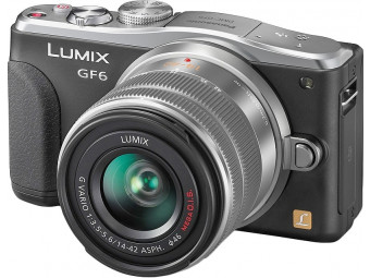 Купить Фотокамера со сменным объективом Panasonic DMC-GF6 Kit 14-42mm Black