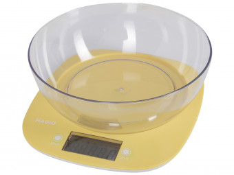 Купить Весы кухонные Magio MG-290N (yellow)