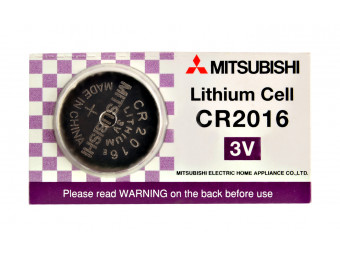 Купить Батарейка Mitsubishi CR2016/5BP 1шт