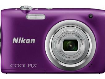 Купить Фотокамера Nikon Coolpix A100 Purple (VNA973E1)