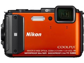 Купить Фотокамера Nikon Coolpix AW130 Orange