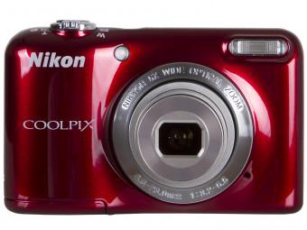 Купить Фотокамера Nikon Coolpix L31 Red