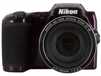 Купить Фотокамера Nikon Coolpix L840 Plum