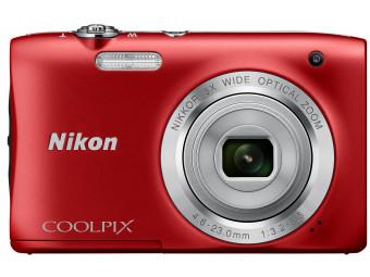 Купить Фотокамера Nikon Coolpix S2900 Red