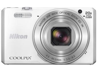 Купить Фотокамера Nikon Coolpix S7000 White
