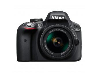 Купить Фотокамера зеркальная Nikon D3300 Kit AF-P 18-55mm VR Black