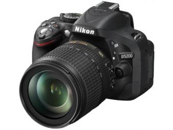 Купить Фотокамера со сменным объективом Nikon D5200 kit 18-105 VR