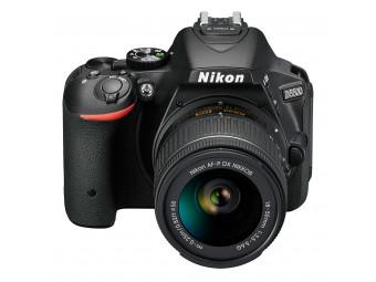 Купить Фотокамера зеркальная Nikon D5500 kit AF-P 18–55VR (VBA440K006) Black