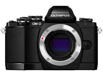 Купить Фотокамера беззеркальная Olympus E-M10 Body black