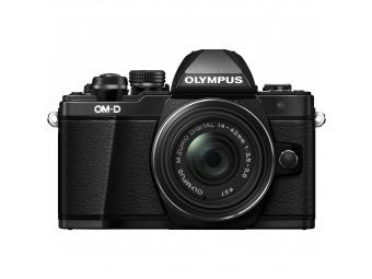 Купить Фотокамера беззеркальная Olympus E-M10 mark II Pancake Zoom 14-42 Kit black/black