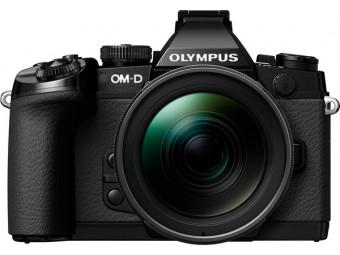 Купить Фотокамера беззеркальная Olympus E-M1 12-40 Kit black/black