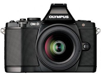Купить Фотокамера беззеркальная Olympus E-M5 12-50 Kit black
