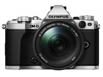 Купить Фотокамера беззеркальная Olympus E-M5 mark II 14-150 II Kit silver/black