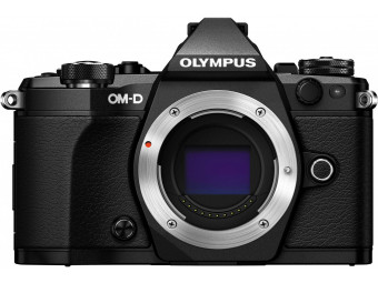Купить Фотокамера беззеркальная Olympus E-M5 mark II Body black