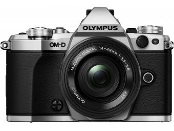 Купить Фотокамера беззеркальная Olympus E-M5 mark II Pancake Zoom 14-42 Kit silver/black