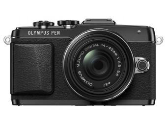 Купить Фотокамера беззеркальная Olympus E-PL7 14-42 mm Pancake Zoom Kit black/black