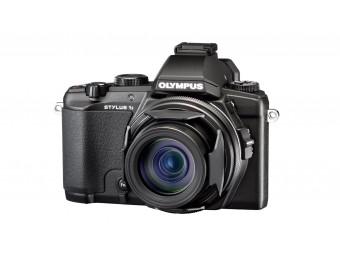 Купить Фотокамера Olympus STYLUS 1s Black